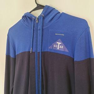 G-Star Light Zip Up Sweatshirt - 100% Cotton